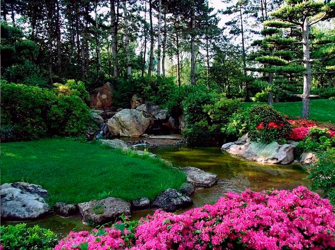 El jardín japonés, una tendencia que sigue en boga